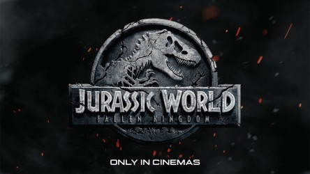 Jurassic World: Fallen Kingdom cinema logo