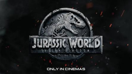 Jurassic World: Fallen Kingdom cinema logo