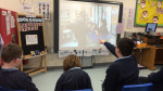 Pupils evaluating their films