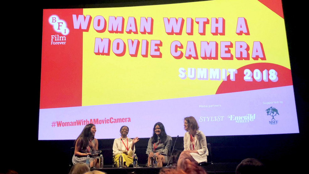 A Critical Perspective Panel at the BFI's Woman with a Movie Camera Summit