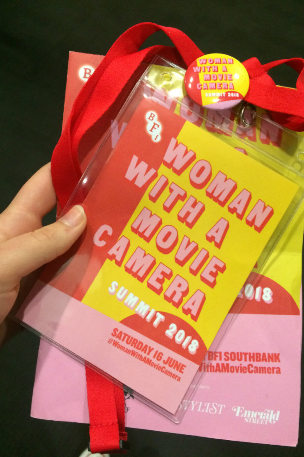 Tickets for the BFI's Woman with a Movie Camera
