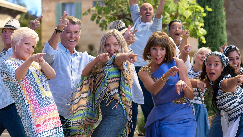 Mamma Mia! Here We Go Again group shot