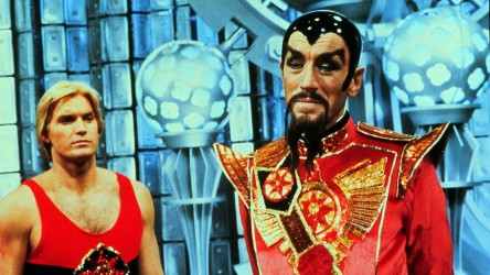 Still from Flash Gordon -Ming and Flash