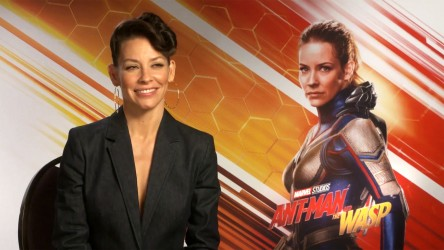 Evangeline Lily Ant-Man and The Wasp interview