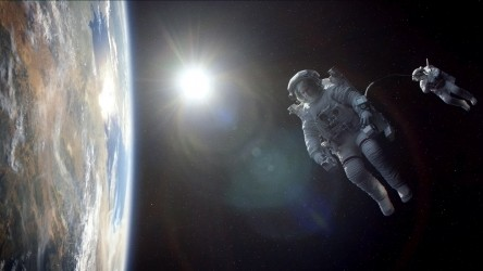 Still from Gravity