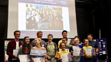 Celebratory event for Welsh activity - YAC Graduation