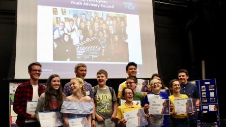 Celebratory event for Welsh activity - YAC Graduation