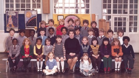 Steve McQueen's Year 3 class photo - Little Ealing Primary School, 1977