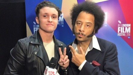 Young reporter and Boots Riley