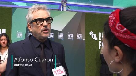 Alfonso Cuaron at 'Roma' premiere