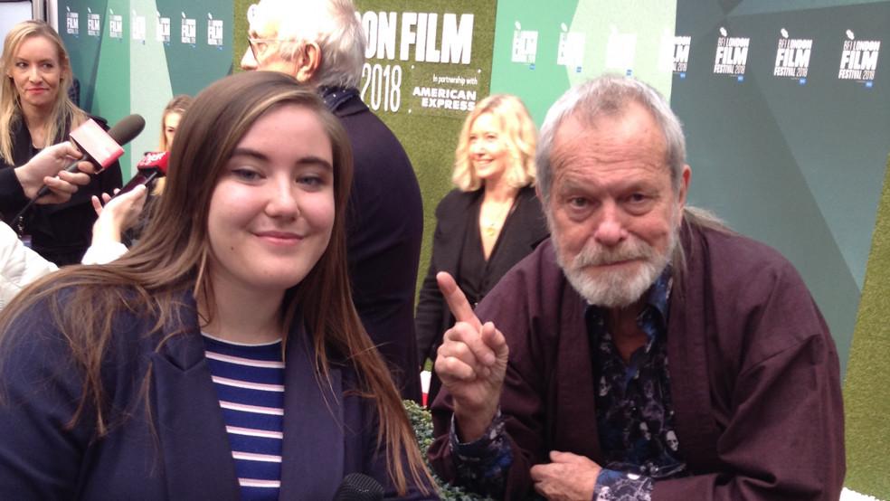 Terry Gilliam, The Man Who Killed Don Quixote premiere