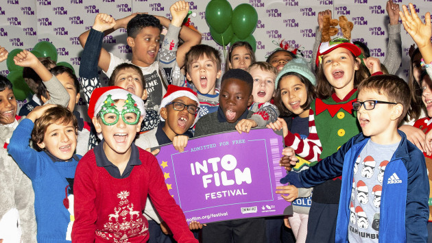 Excitement and Christmas outfits at the London event