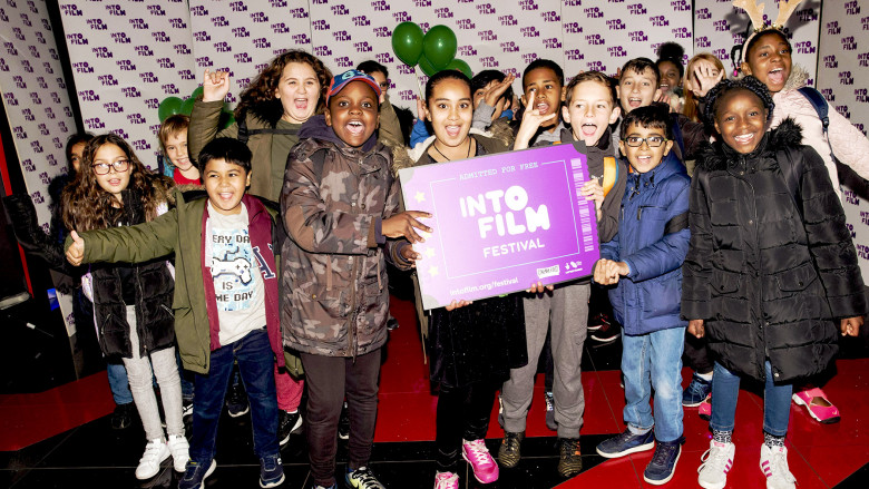 Attendees at the Into Film Festival London launch event