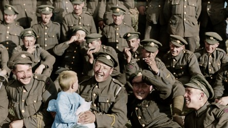 They Shall Not Grow Old (soldiers)
