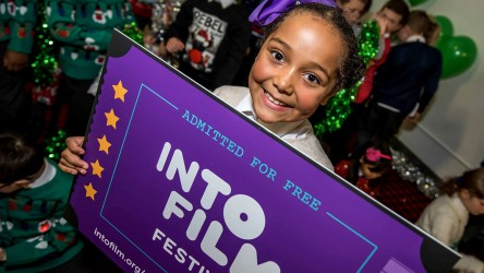 Into Film Festival 2018 (Girl with Ticket)