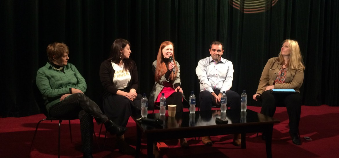 Reporter Eve on the classic film panel at Glasgow Film Theatre
