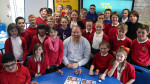 Jim Parkyn of Aardman visits Llanharan Primary School (1)