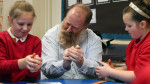 Jim Parkyn of Aardman visits Llanharan Primary School (4)