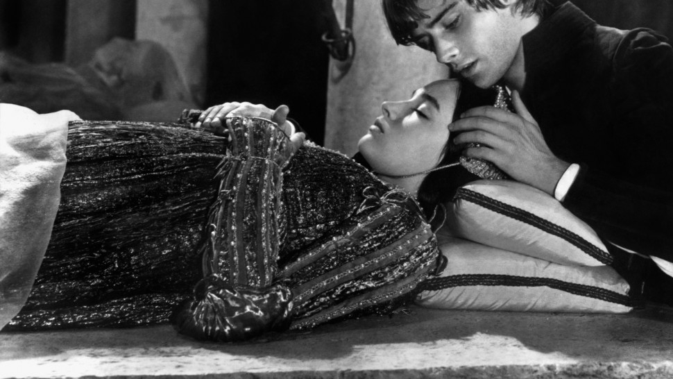 Romeo and Juliet film still