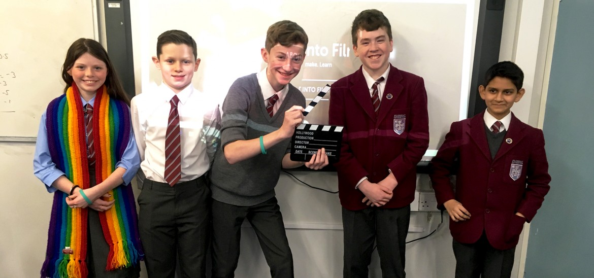 Junior Into Film Club at St Ninian's, Scotland