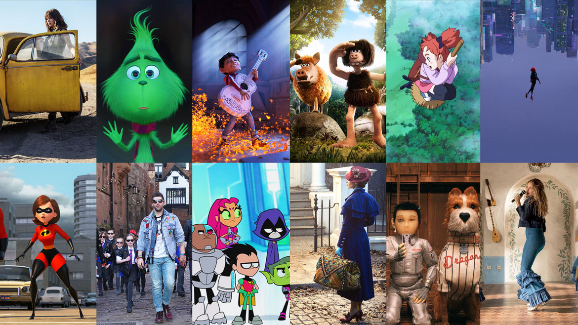 Family and Young People's Film of the Year 2019 Montage