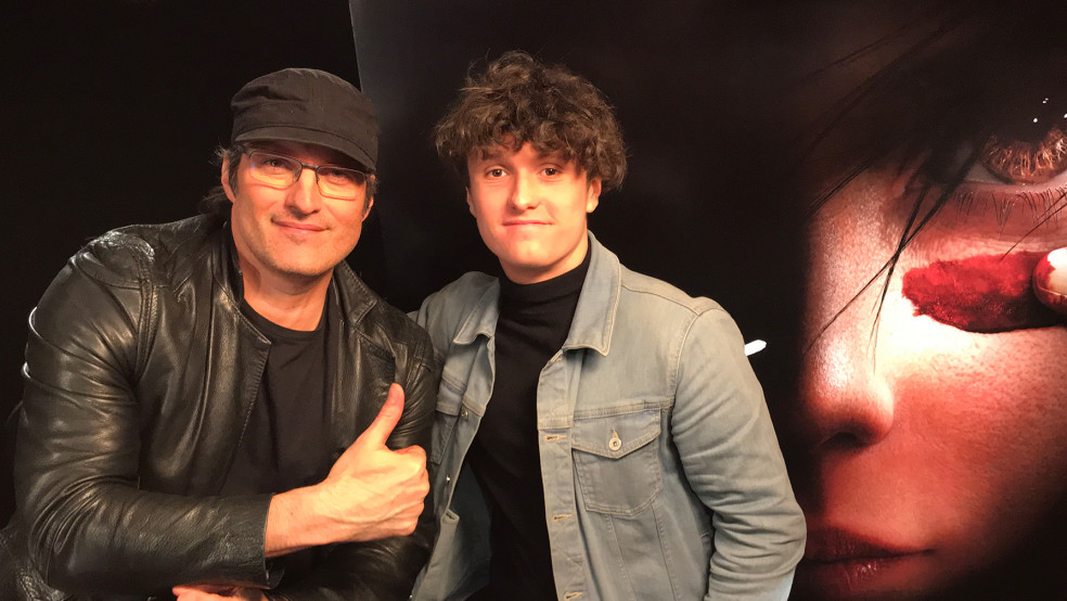 Director Robert Rodriguez speaks to Into Film reporter Cai