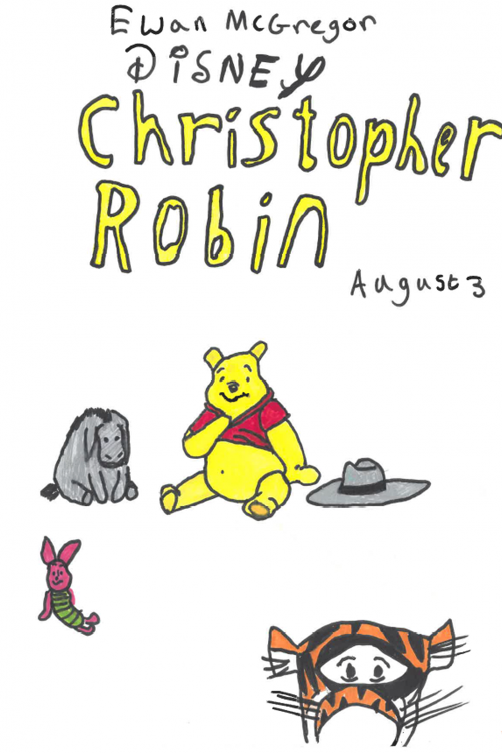 Christopher Robin, by Emma, aged 11, Kenton