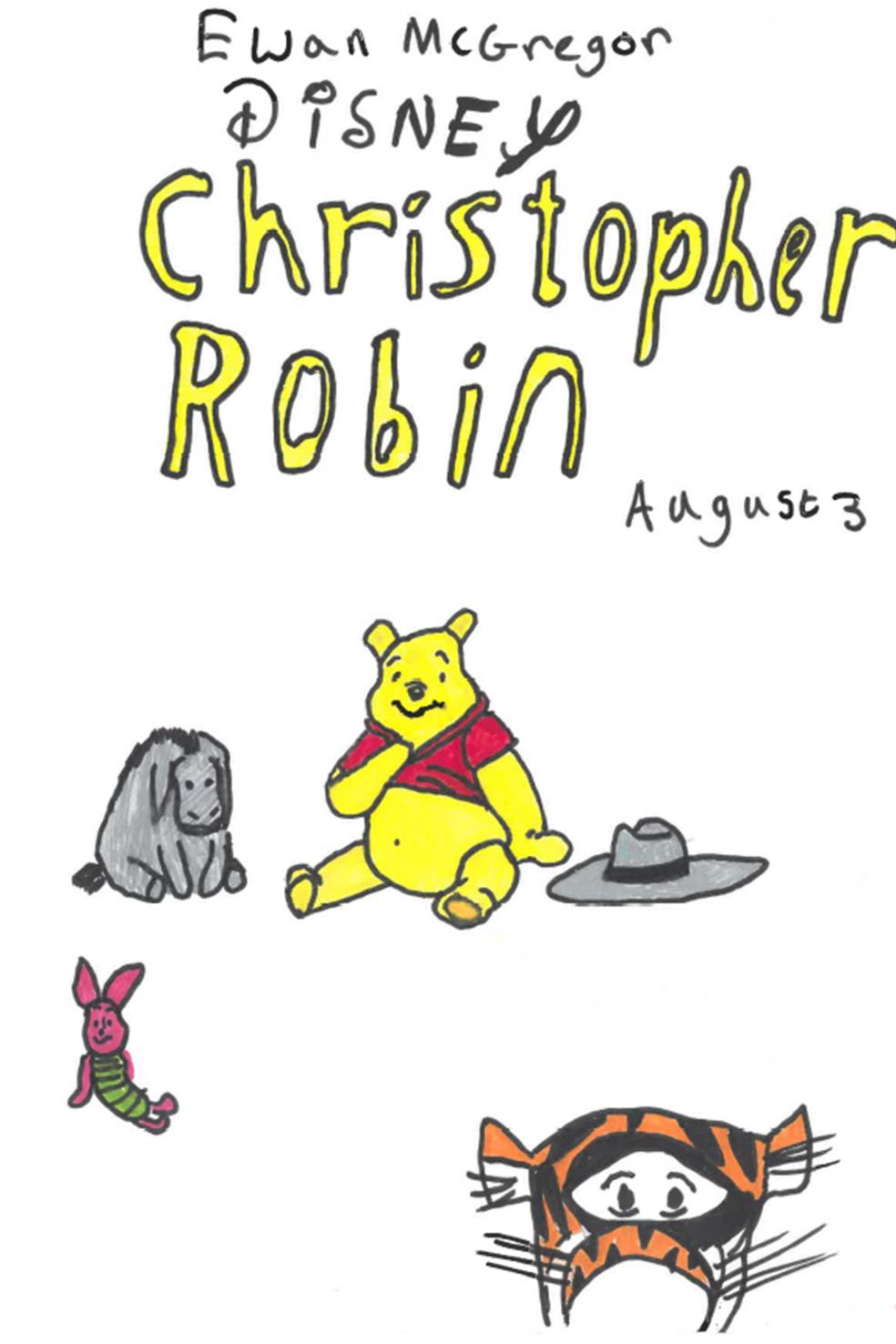 Christopher Robin, by Emma, aged 11, Kenton