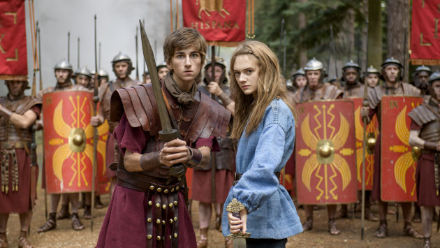 Rotten Romans film still Horrible Histories the movie
