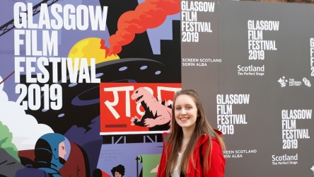Reporter Eve D at Glasgow Film Festival 2019