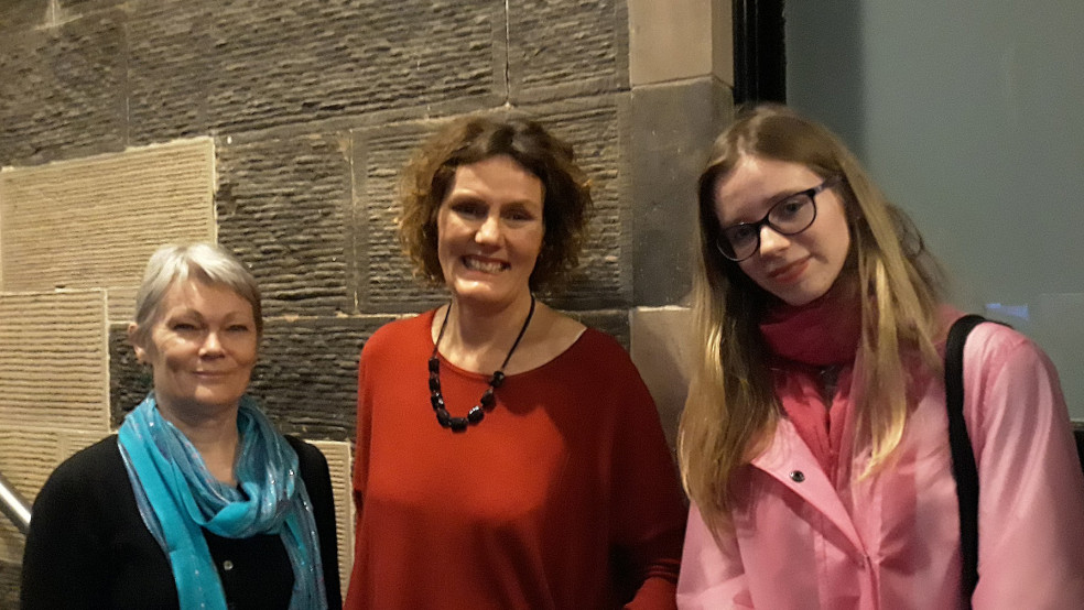Reporter Emilija meets Tracey Edwards and Sally Hunter