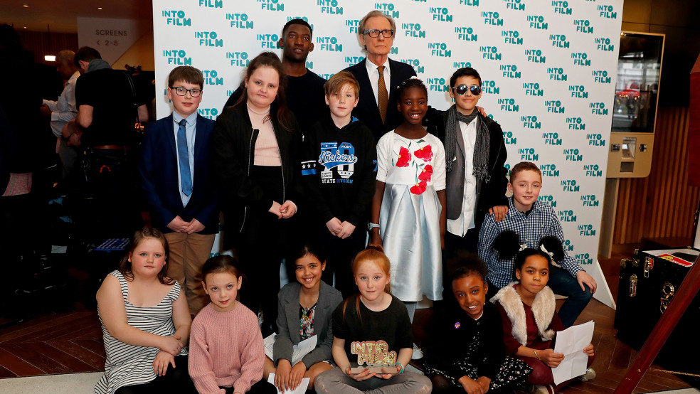 Best Animation winners with actors Bill Nighy and Malachi Kirby