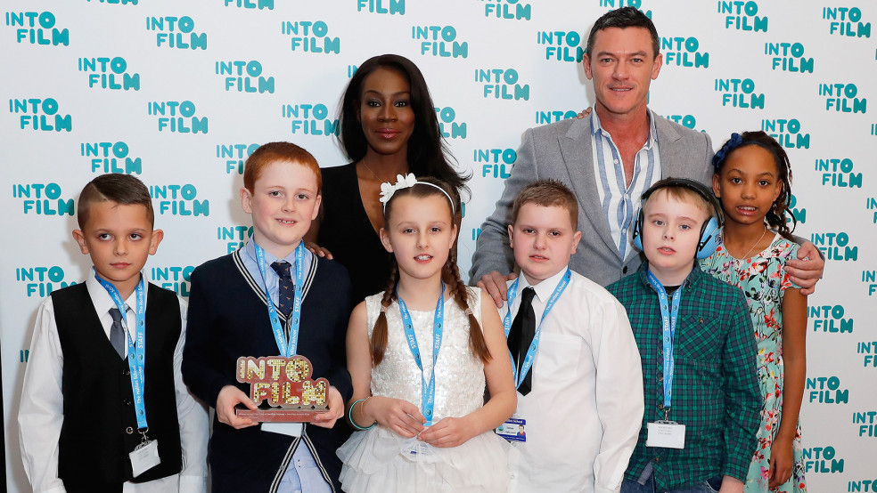 Into Film Club of the Year: Primary winners with Amma Asante and Luke Evans