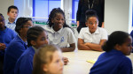 Pupils at Bluebell Hill Primary School, Nottingham