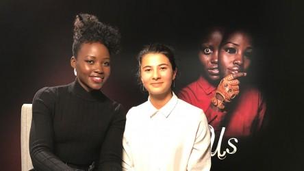 Us star Lupita Nyong'o and reporter Eden sat down to talk all things Us