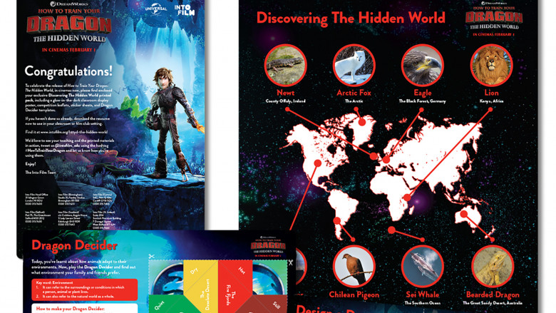 How to Train Your Dragon: The Hidden World resource