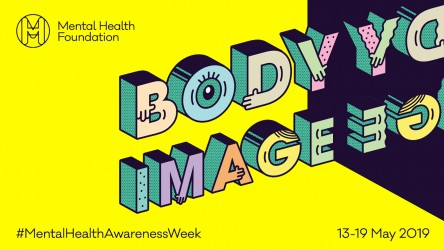 Poster for this year's theme of 'Body Image'