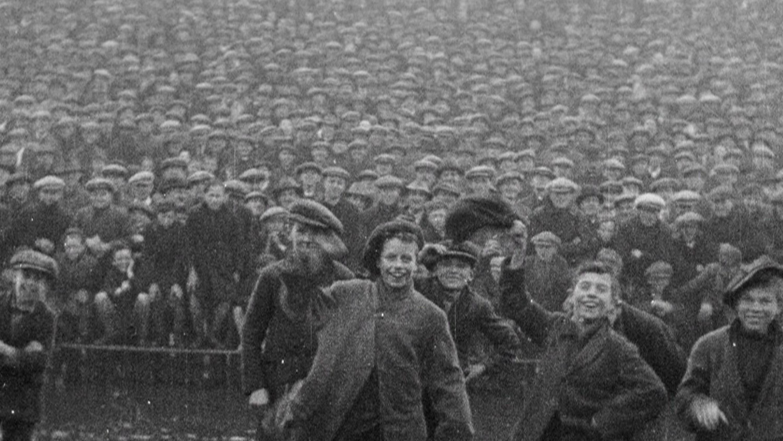 Northern Ireland Digital Film Archive (Boys at football) image