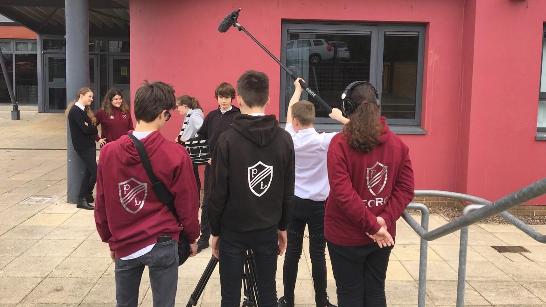 Filmmaking at Preston Lodge High School, East Lothian