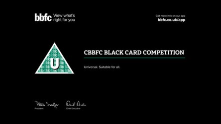 BBFC Black Card Competition header image