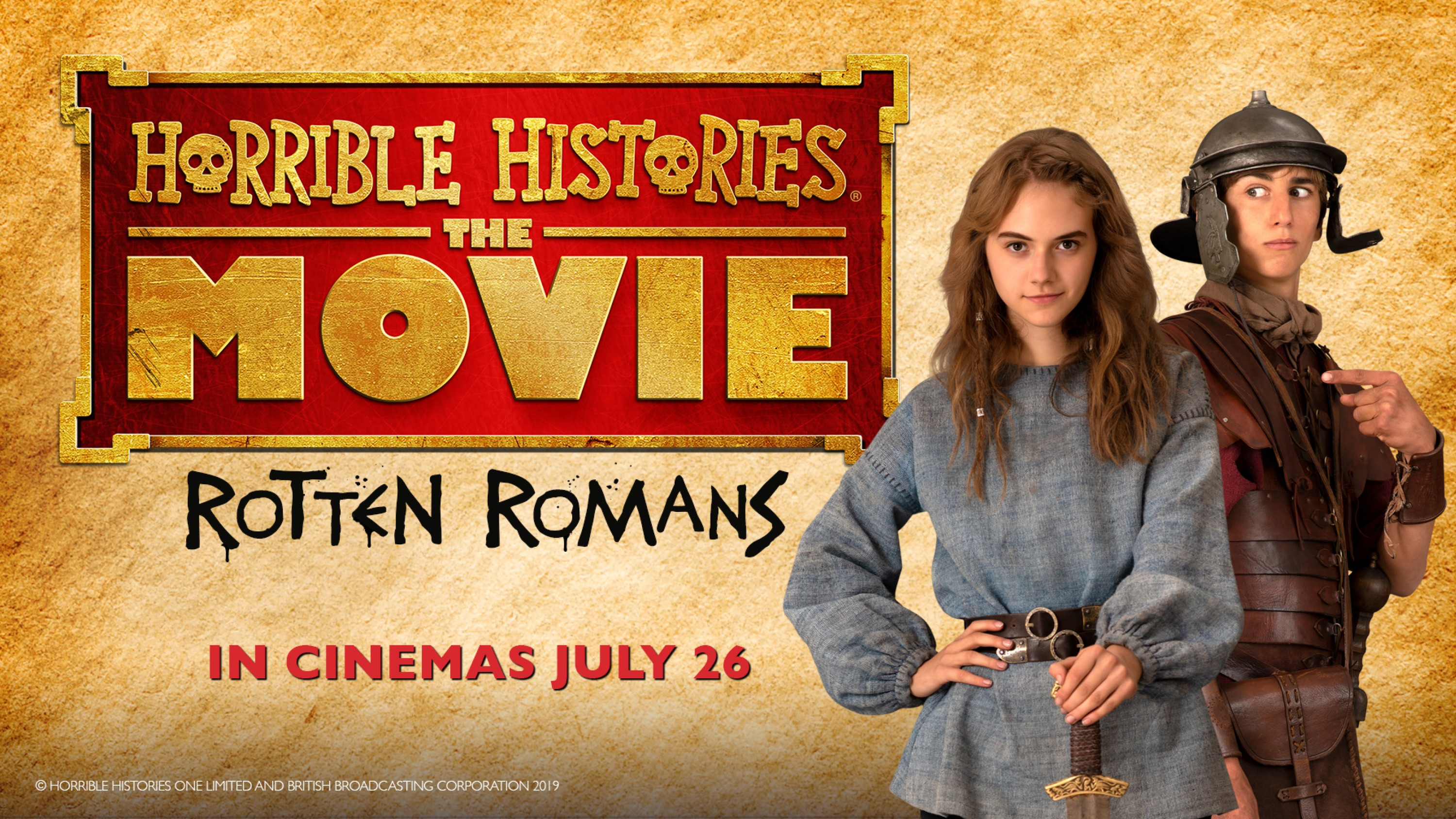 Horrible Histories: The Movie - Rotten Romans resource image