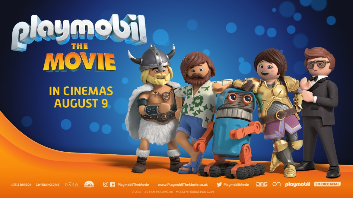 Playmobil: The Movie resource and theme page background image