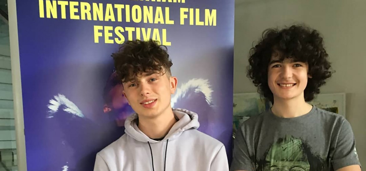 Into Film reporters Archie & Ewan at Cheltenham International Film Festival