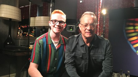 Toy Story 4 Junket Tom Hanks With Eli