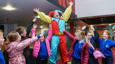 IFF 18 - The Greatest Showman event with Circus Acts