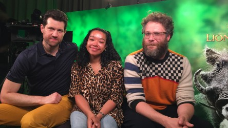 The Lion King Junket - YR with Seth Rogen and Billy Eichner