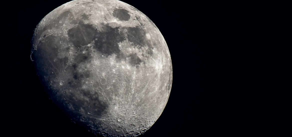 The Moon (Stock image by James Hammond)
