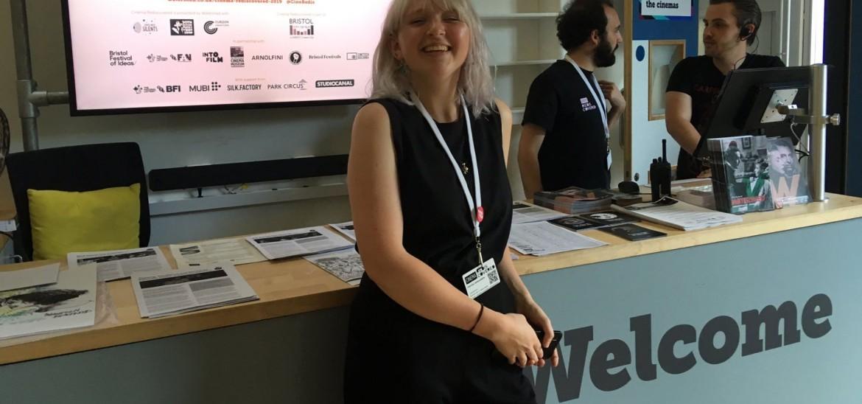Local competition winner Patricija at Cinema Rediscovered