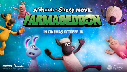 A Shaun the Sheep Movie: Farmageddon resource page header
