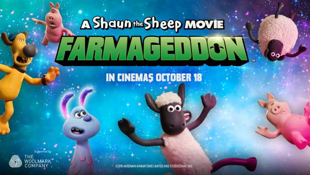 A Shaun the Sheep Movie: Farmageddon resource page header